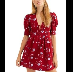 🆕 free people Adelle floral printed tunic
